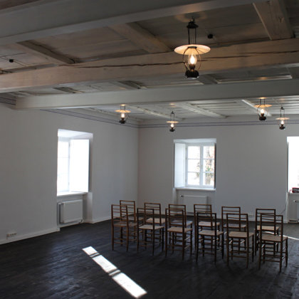 Atjaunotā Melānijas Šleijas(Vanagas)laika (1912)klases telpa