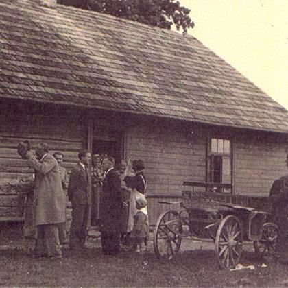 """20.gs. 30.gadi - dzimtās mājas """"Sermuļi"""""""